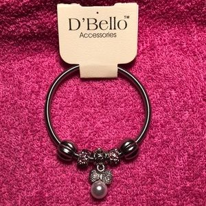 Jewelry - Silver and pink bracelet